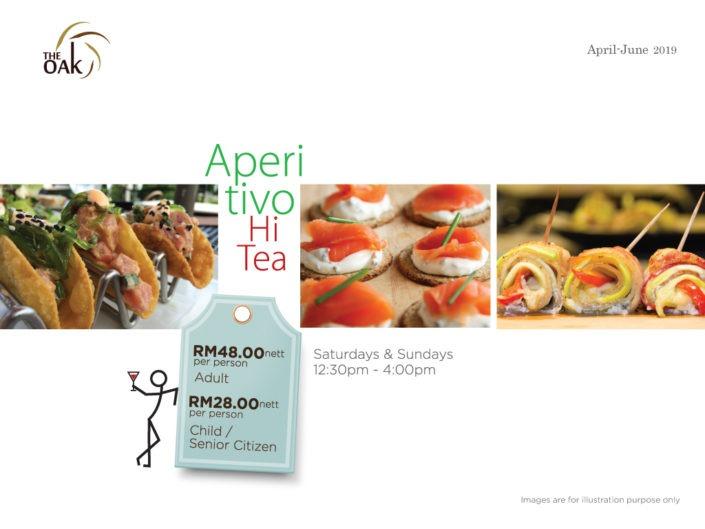 Hi Tea Promotion Pricing