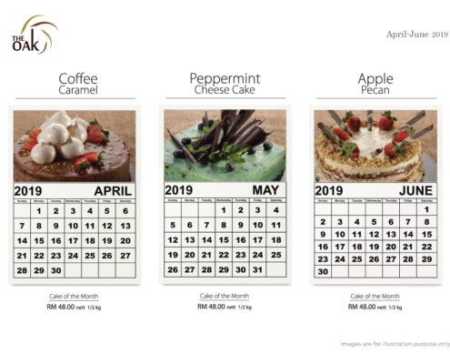 Cake Promotion Calendar