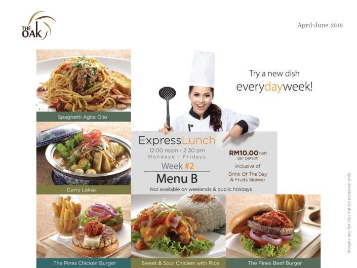 Express Lunch Menu 2