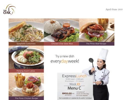 Express Lunch Menu 3