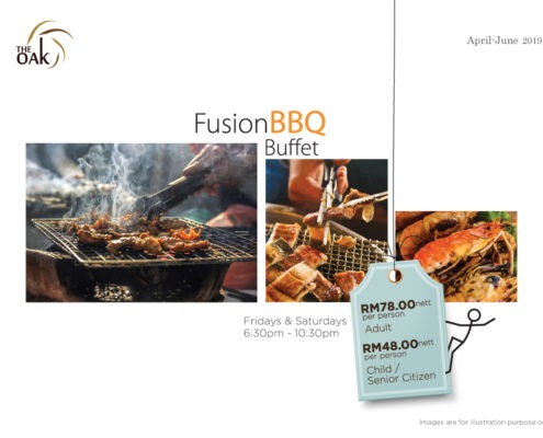 BBQ Buffet Promotion Pricing